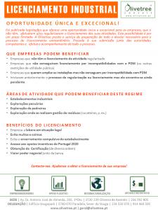 Folhetos dos Serviços Olivetree_V1_25 julho 2015_Licenciamento industrial