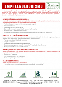 Folhetos dos Serviços Olivetree_V2_24 abril 2015_Empreendedorismo