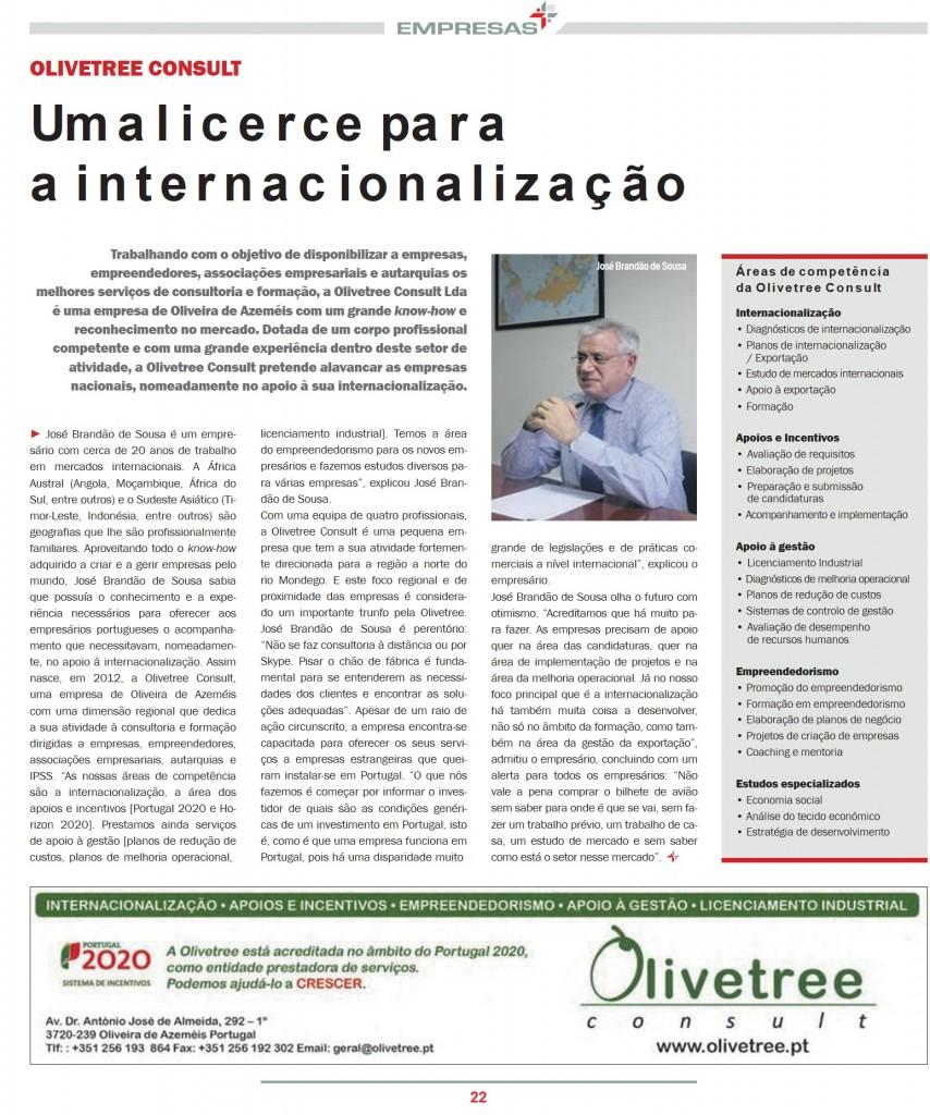 SUPLEMENTO PUBLICO EMPRESAS MAIS_FEVEREIRO2016_PAGINA OLIVETREE